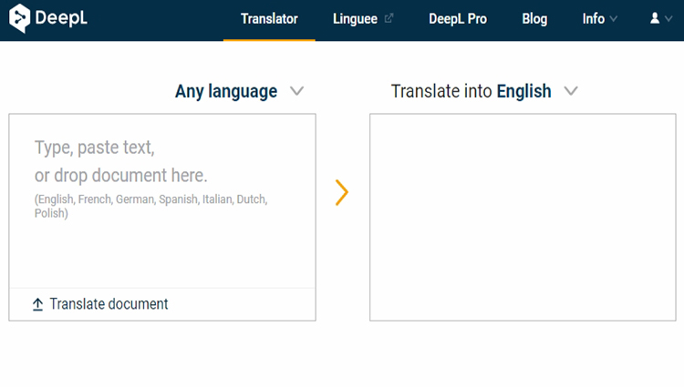 Deepl Translator A Free Online Translator That Is 10x Better Than Google Translate Angelo Deals